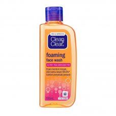 clean clear ffacial wash 100 ml